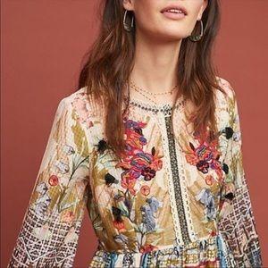 Dresses & Skirts - NWT Anthropologie Bhanuni Maxi Dress Size Medium